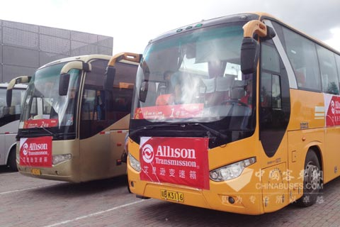 装载了第五代控制系统的艾里逊自动变速箱助力车辆平稳、经济运行