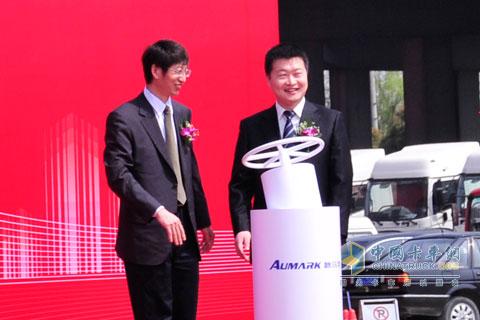 福田欧马可领导与康明斯领导共同启动欧马可5系新品全国上市系列活动