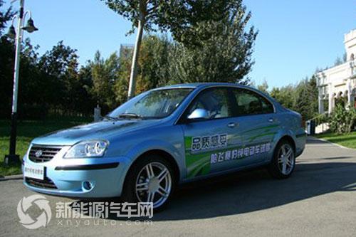 哈飞赛豹纯电动轿车是哈尔滨哈飞汽车工业集团有限公司以高清图片