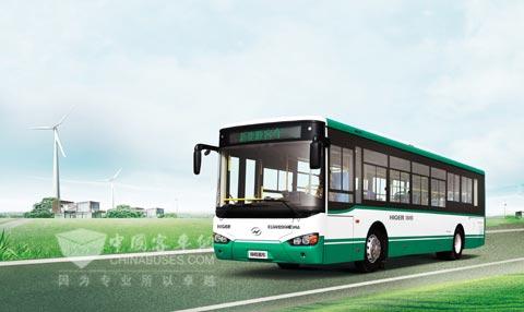 海格新能源公交KLQ6129GHEV4A