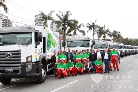 Ecofor车队隶属Marquise集团塞阿拉州福塔雷萨市分部