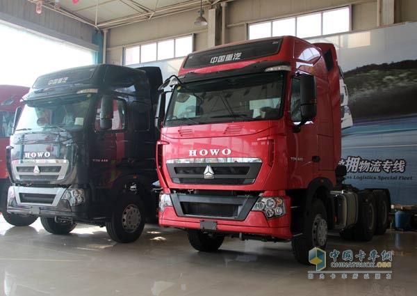 中国重汽HOWO-T7H卡车
