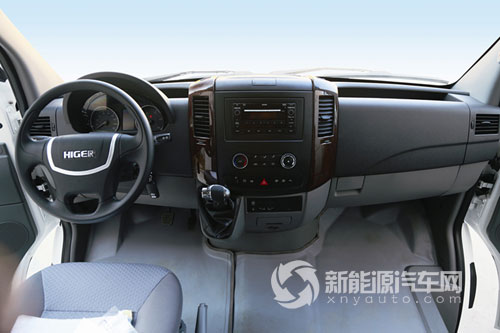 海格6米H6V纯电动多功能商用车