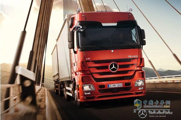 梅赛德斯 奔驰卡车 2月订单量破 高清图片