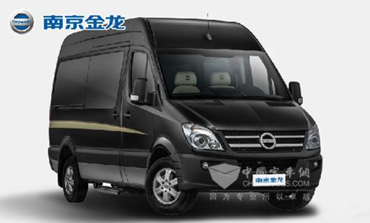"""南京金龙轻客""""续航王""""纯电动高端商务车"""