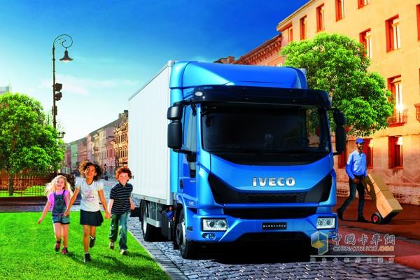 获得2016年度国际卡车的New Eurocargo