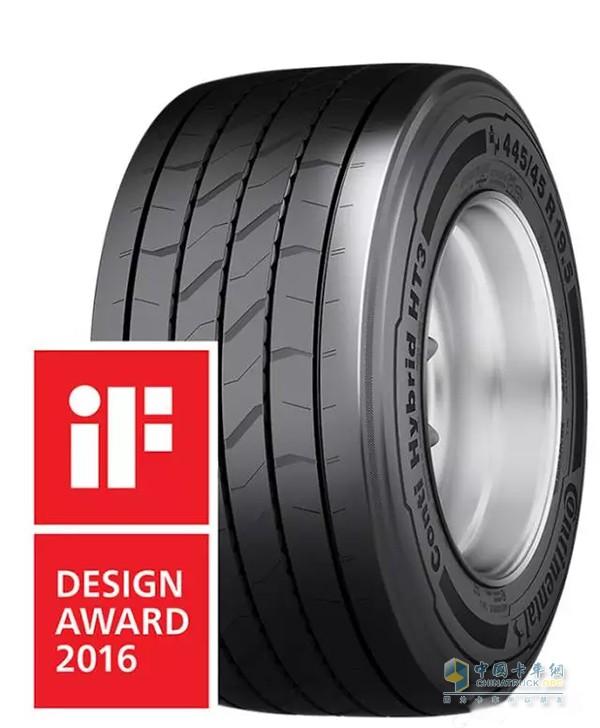 马牌HT3获得IF设计大奖