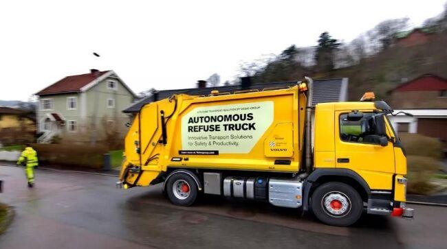 自动驾驶回顾篇之沃尔沃垃圾清运车