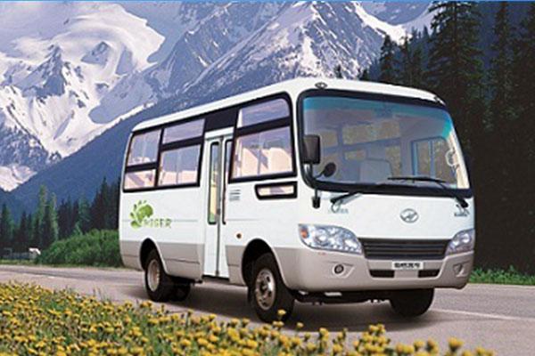 海格KLQ6669GE5城市客车(柴油国五10-24座)