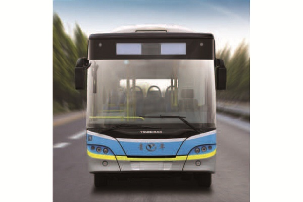 青年JNP6100GVCP公交车(天然气国五10-40座)