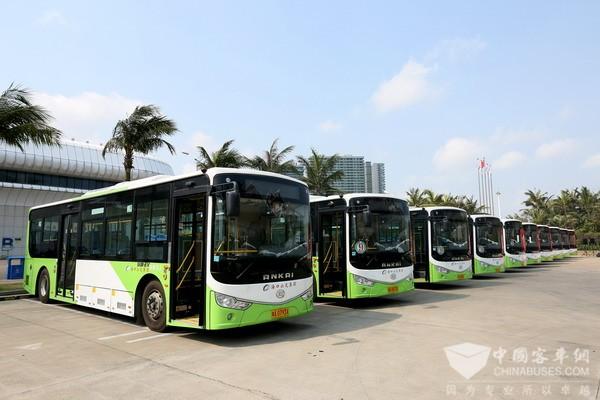 海口:计划投资3亿元购置300辆新能源公交车