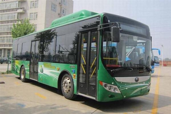 宇通ZK6105CHEVNPG29插电式公交车(天然气/电混合动力国五10-36座)
