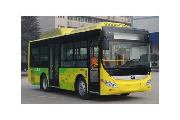 宇通ZK6850CHEVNPG35插电式公交车(天然气/电混合动力国五10-30座)