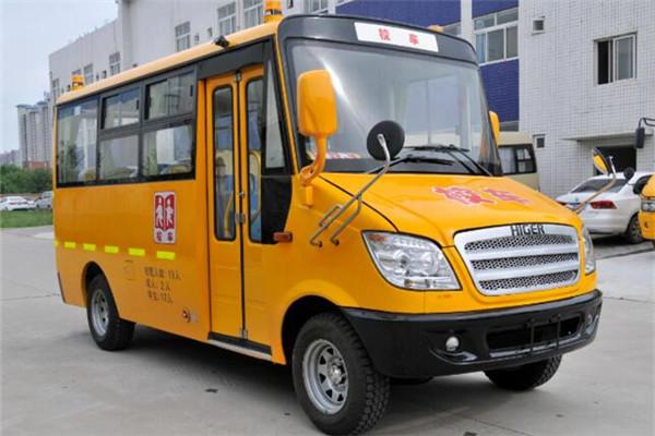 海格KLQ6539XQE5A幼儿专用校车(柴油国五10-19座)