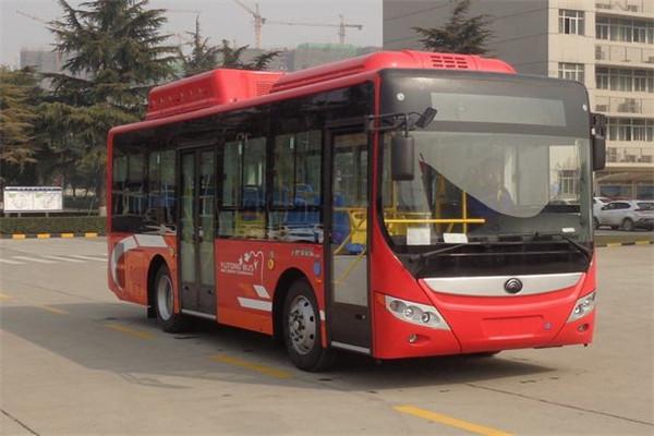 宇通ZK6850CHEVPG33插电式公交车(柴油/电混动国五10-26座)
