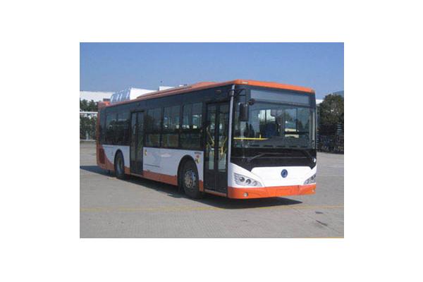 申龙SLK6129UNHEVL插电式公交车(天然气/电混动国五10-39座)