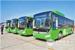 河南:洛阳市10余条线路换上新型纯电动公交车