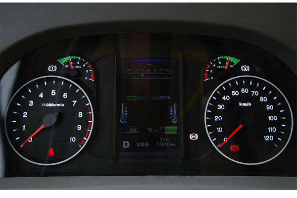 比亚迪K9车型仪表盘图