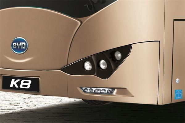 比亚迪K8车型细节图