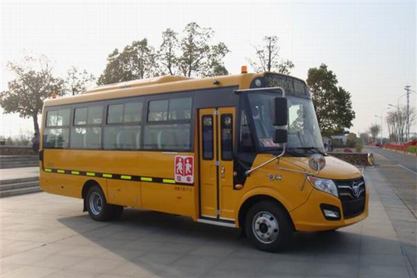 福田欧辉BJ6781S7MEB-6小学生专用校车(柴油国五24-41座)