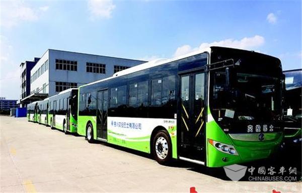 广东惠州:惠城区258辆纯电动公交车6月上岗