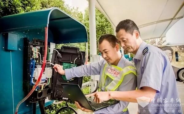 南京公交集团:新能源公交车全生命周期管理经验
