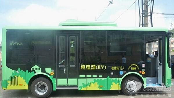 浙江:萧山区将投放100辆纯电动公交