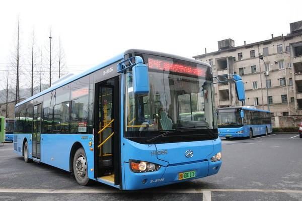 浙江余杭首个电动公交车集中充电站正式投运