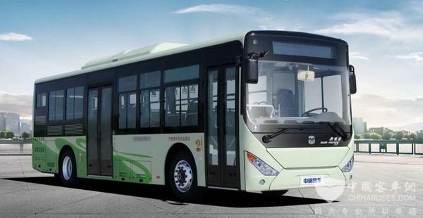 湖南吉首:15辆新能源公交车服务乡村