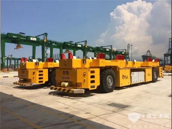 大功率 零排放 微宏快充为港口运输电动化蓄力