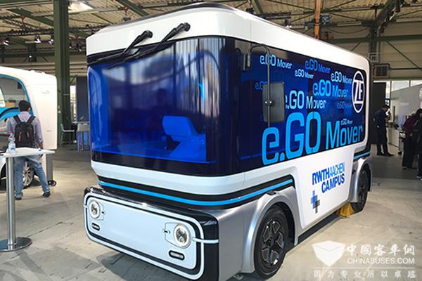 优先乘客安全体验 采埃孚与Transdev、e.GO联合开发共享自主移动解决方案
