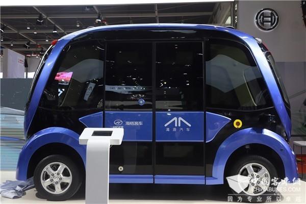 聚焦|2019年上海车展上有哪些客车元素?