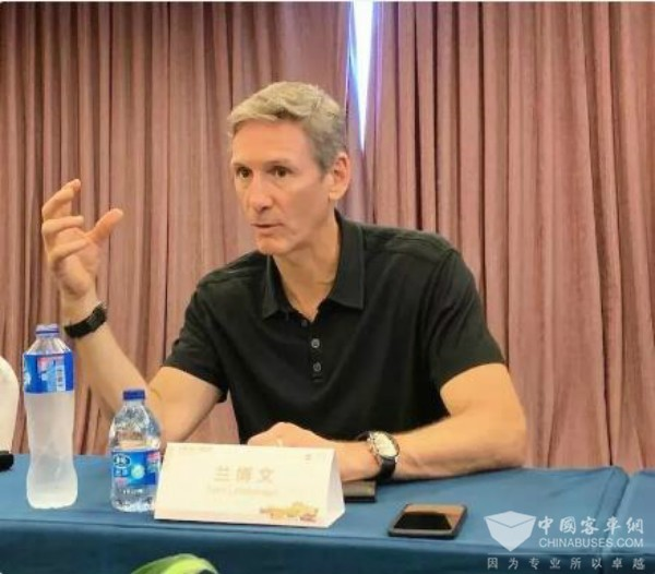 兰博文:康明斯最先进技术将加速投放到中国