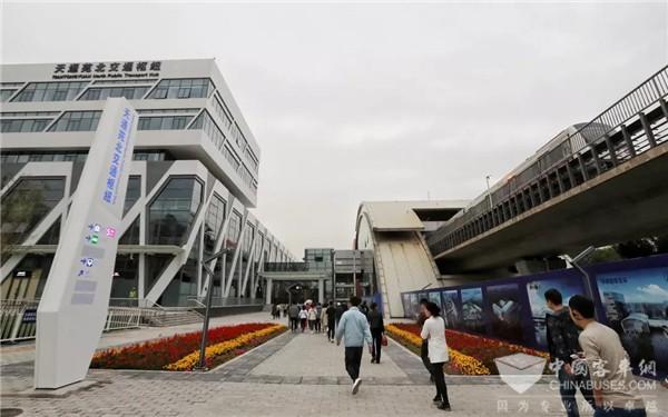 北京:天通苑北综合交通枢纽于10月13日正式投入使用