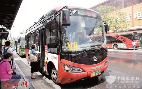 """双向发力 组合出击 银隆新能源微公交洛阳""""上岗"""""""