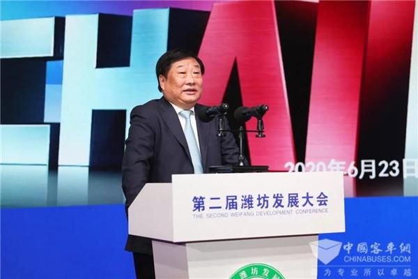 谭旭光:打造国际动力城 助力潍坊高质量发展