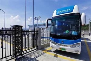 """北京延庆首家加氢气站落地 申龙氢燃料电池为当地注入绿色""""新动力"""""""