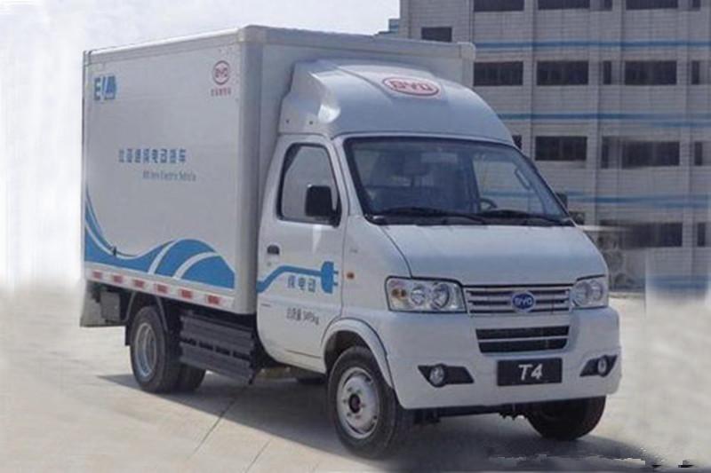 比亚迪T4 2.9米单排厢式轻卡(纯电动)(BYD5031XXYBEV)