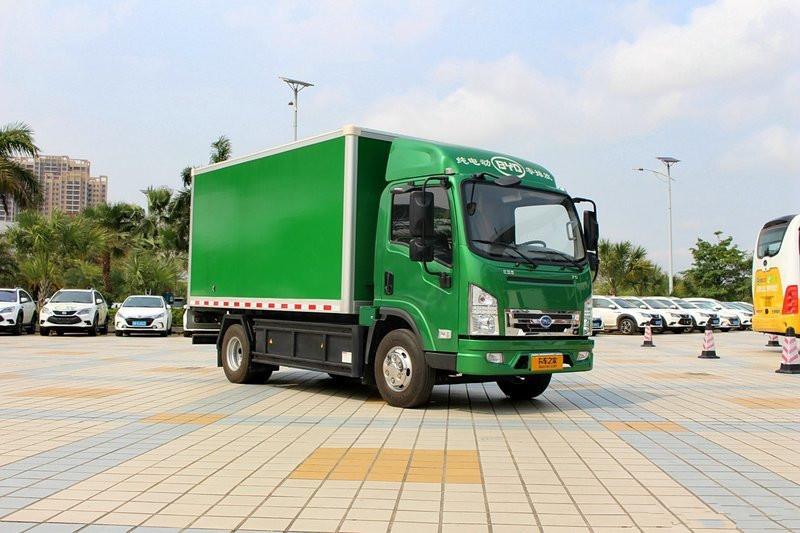 比亚迪T5 7吨 4.2米单排厢式轻卡(纯电动)(BYD5070XXYBEV)