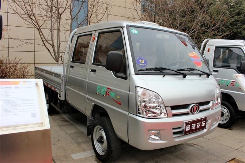 奥驰 悦菱 1.24L 88马力 汽油 3.1米 4X2 国五单排栏板微卡(FD1037D13Q5-S1)