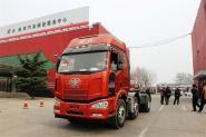 一汽解放 J6M重卡 350马力 6X4 国四牵引车(CA4250P66K24T1A1HE4)