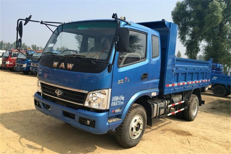 奥驰 T3系列 115马力 3.64米 4X2 国四排半自卸车(FD3043P10K4)外观图片