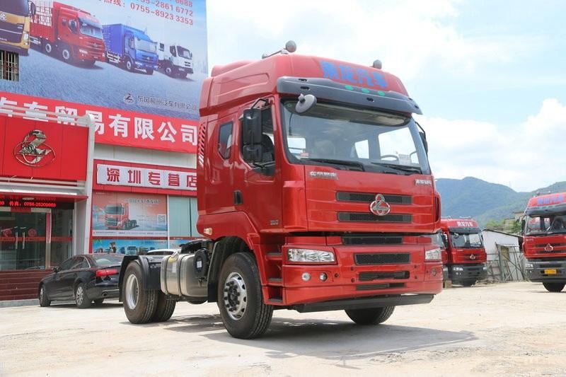 东风柳汽 乘龙M5重卡 350马力 4X2 国五牵引车(LZ4183M5AB)