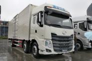 东风柳汽 乘龙H7重卡 240马力 6X2 9.6米 国四厢式载货车(LZ5250XXYKM5CA)