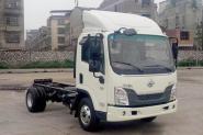 东风柳汽 乘龙L3 116马力 4X2 4.2米 国五单排轻卡底盘(LZ1040L2ABT)