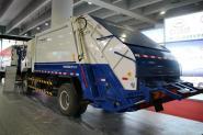 东风柳汽 乘龙 180马力 4X2 国四压缩垃圾车(ZLJ5160ZYSLZE4)