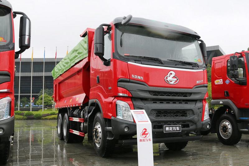 东风柳汽 乘龙H7 388马力 6X4 5.6米 国五自卸车(渣土车)(LZ3251M5DB)