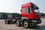 东风柳汽 乘龙M5 336马力 8X4 8米 国四自卸车底盘(LZ3310QEKA)