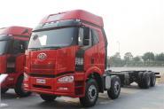 一汽解放 J6P重卡 重载版 420马力 8X4 9.5米 国四栏板载货车(CA1310P66K24L7T4E4)