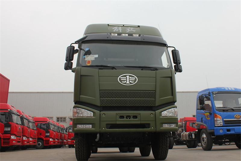 一汽解放 J6P重卡 350马力 8X4 8.2米 国五自卸车(CA3310P66K2L6T4AE5)